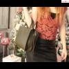 Blumari Firenze Tote Bag sötétzöld kézitáska