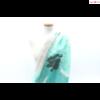 Butterfly nagy virágmintás türkizzöld női sál