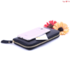 Marlon Firenze Női Bőrpénztárca fekete színben