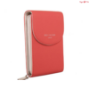 Red Cuckoo London Cross Body Pouch Korall
