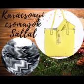 Karácsonyi Kifordítható Csomag Citromsárga és Ezüst