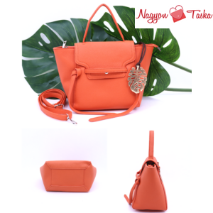 Tökéletes biciklis kézi táska és hátizsák narancs színben