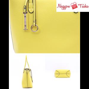 Kris-Ana London kifordítható női táska citromsárga vagy ezüst színben
