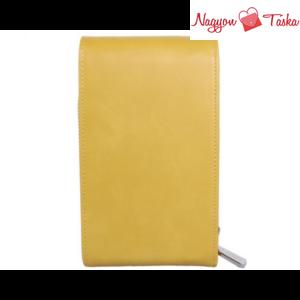 Red Cuckoo London telefontok mustár sárga