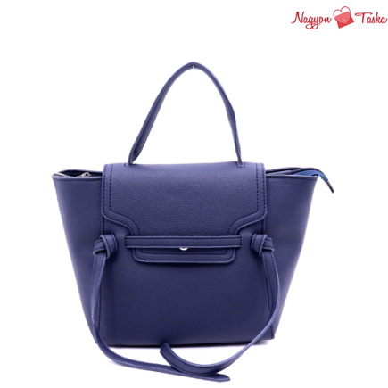Tökéletes biciklis kézi táska és hátizsák tengerész kék színben