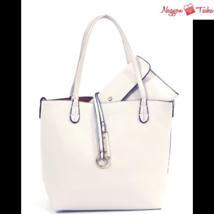 Kris-Ana kifordítható női táska bézs vagy narancs színben