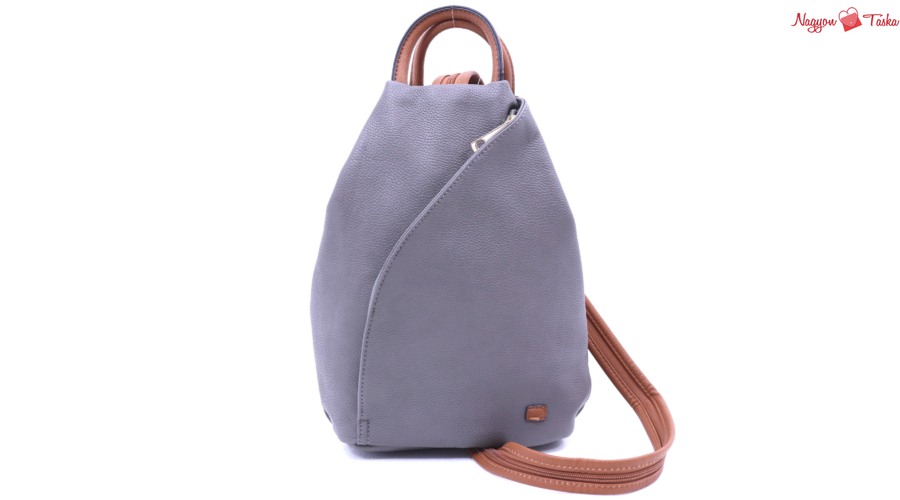 Daypack városi hátizsák és kézitáska egyben gránit szürke színben ... 4d23f18e8d